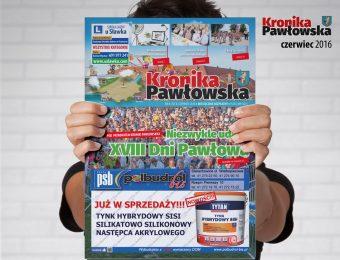 Kronika Pawłowska - czerwiec 2016