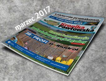 Kronika Pawłowska - marzec 2017