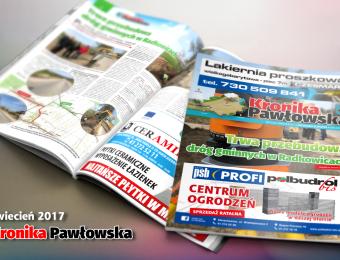 Kronika Pawłowska - kwiecień 2017