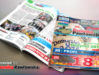 Kronika Pawłowska • wrzesień 2016