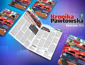 Kronika Pawłowska - kwiecień 2016