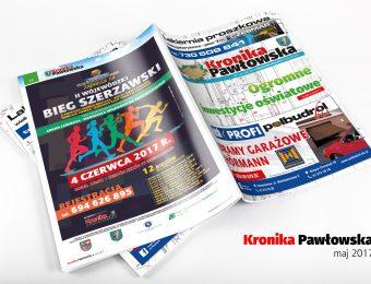 Kronika Pawłowska - maj 2017