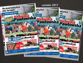 Kronika Pawłowska - czerwiec 2017