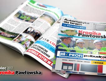Kronika Pawłowska - lipiec 2017